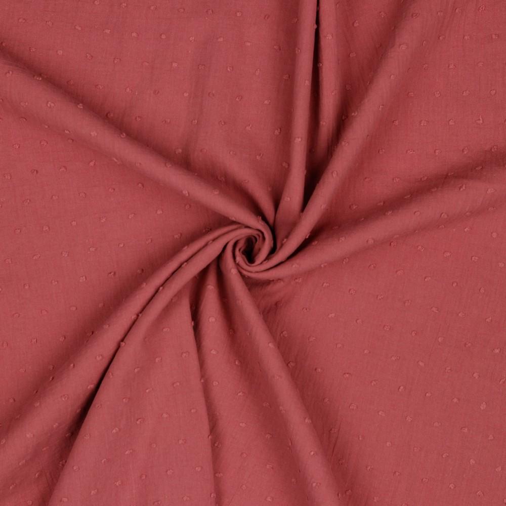 Crew Box Bluse Talea Pastel Rouge