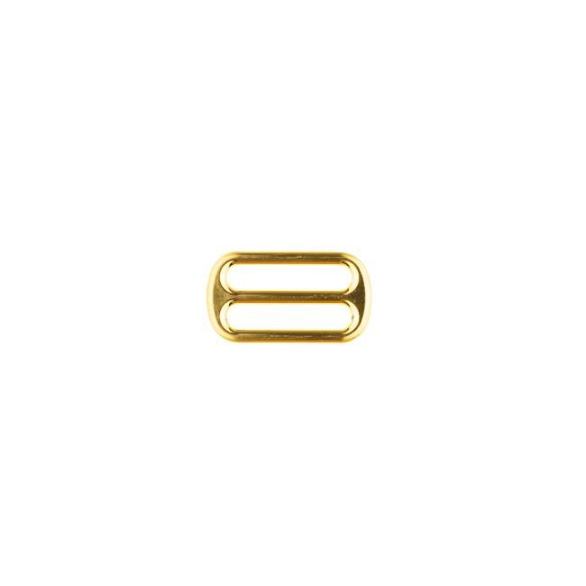 Leiterschnalle 25mm Gold