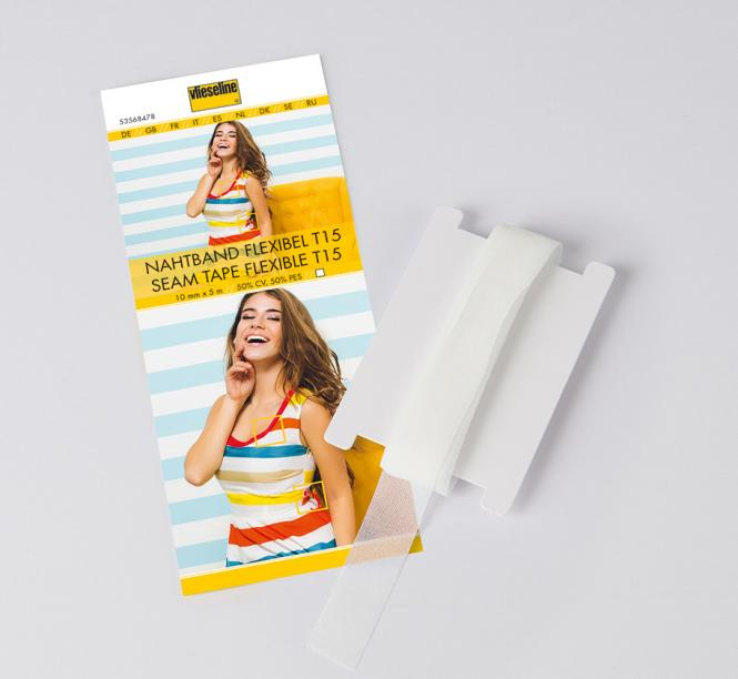 Nahtband flexibel T15 Weiß