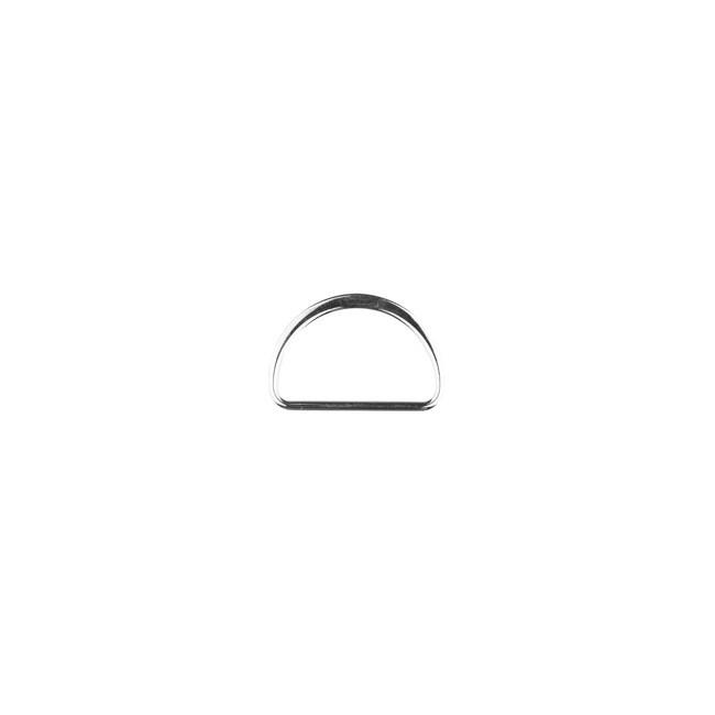 D Ring 40 mm Silber