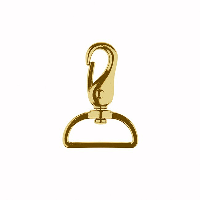 Karabiner Gold 40mm