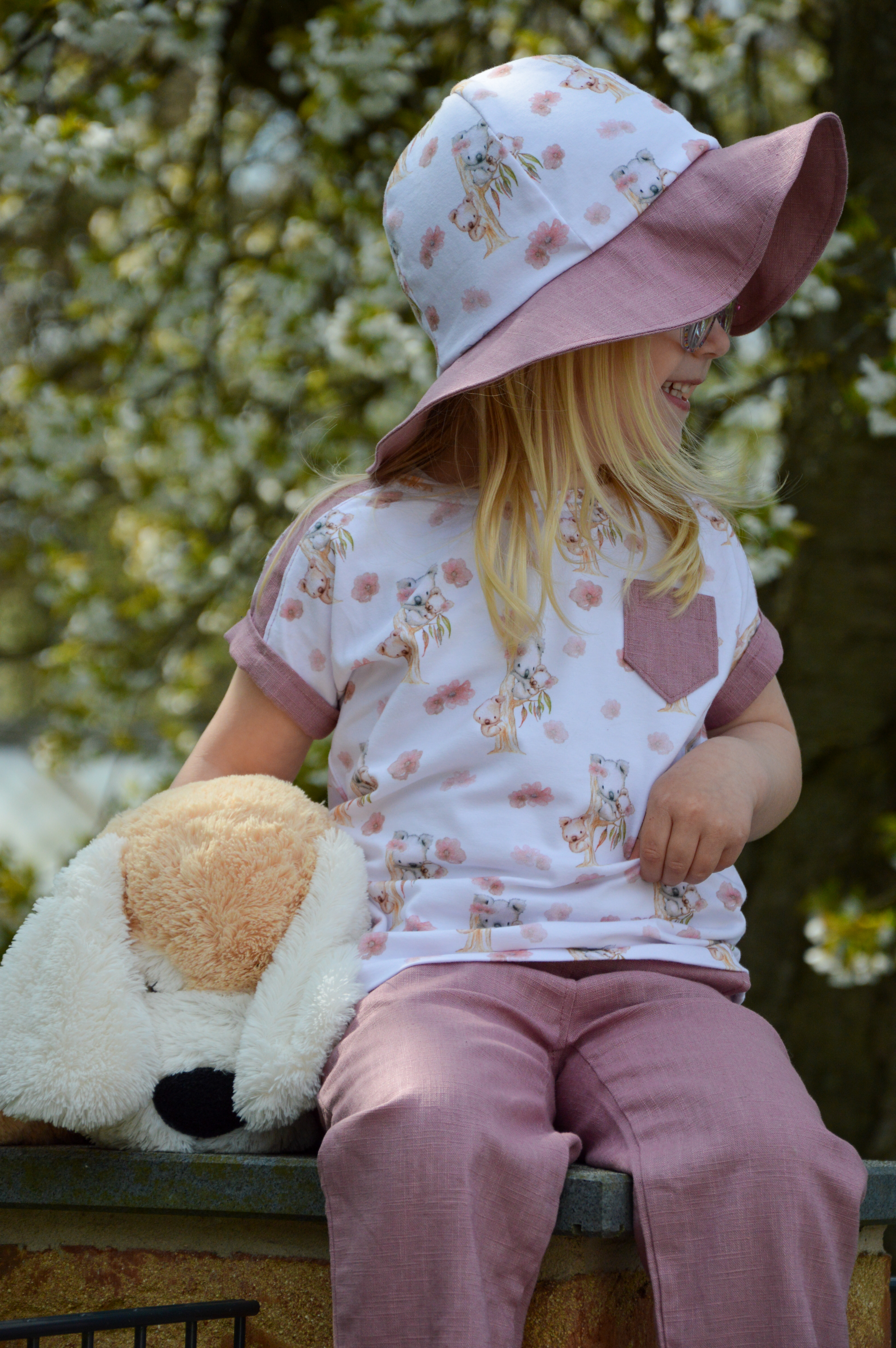 Crew Box Kids Summer Shirt  Koala Weiß Gr. 104 - 152