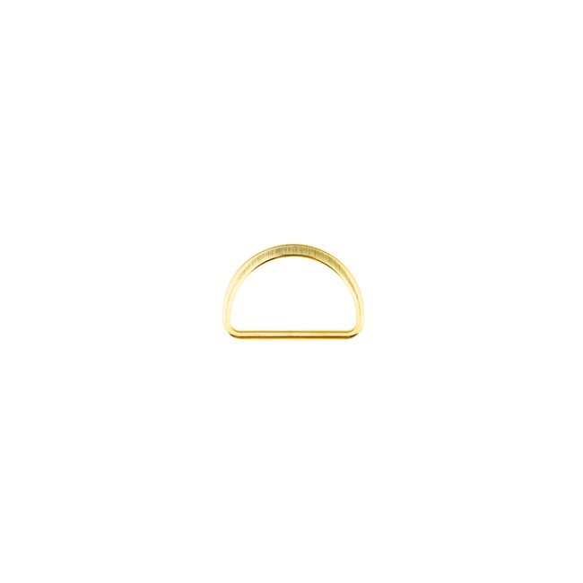 D Ring 25 mm Gold