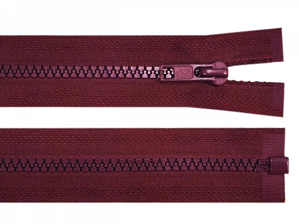 Reißverschluss Bordeaux 65 cm