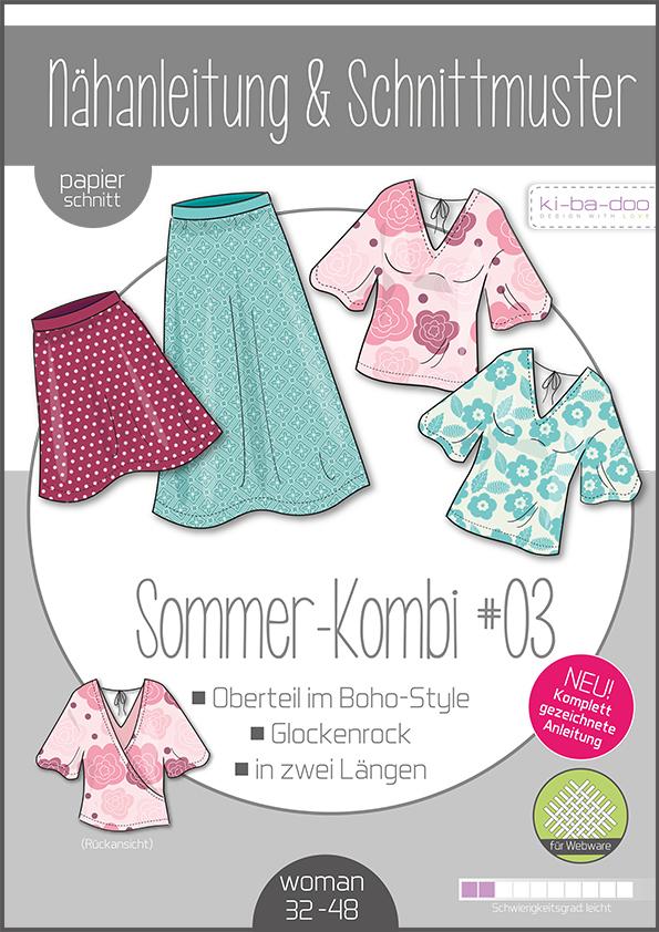Schnittmuster Mix And Match Sommerkombi #3 Kibadoo