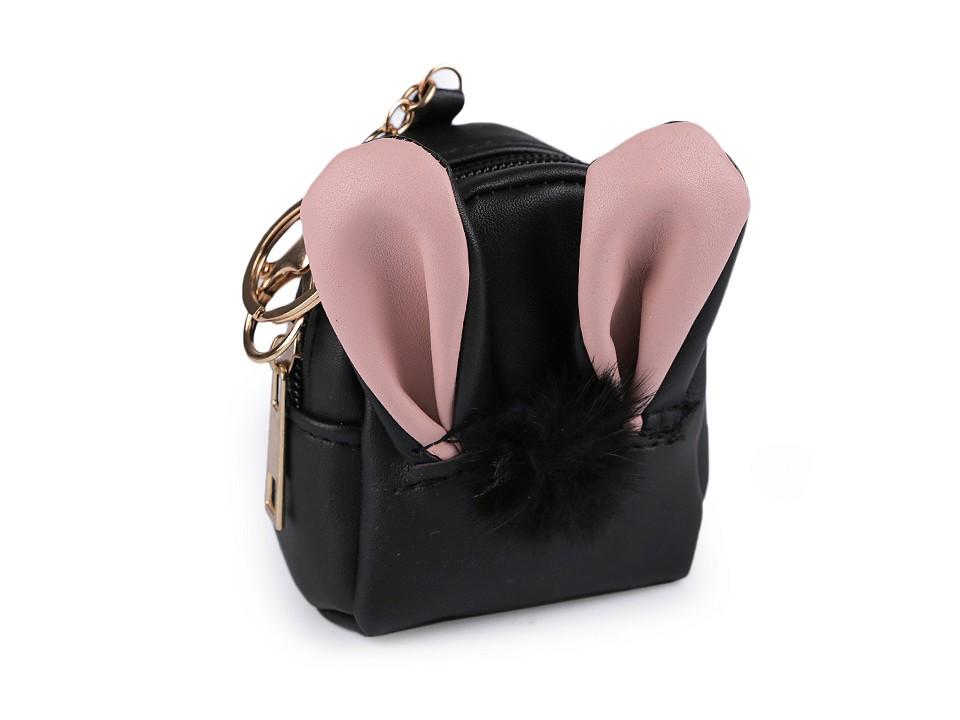 Anhänger Bunny Bag Black
