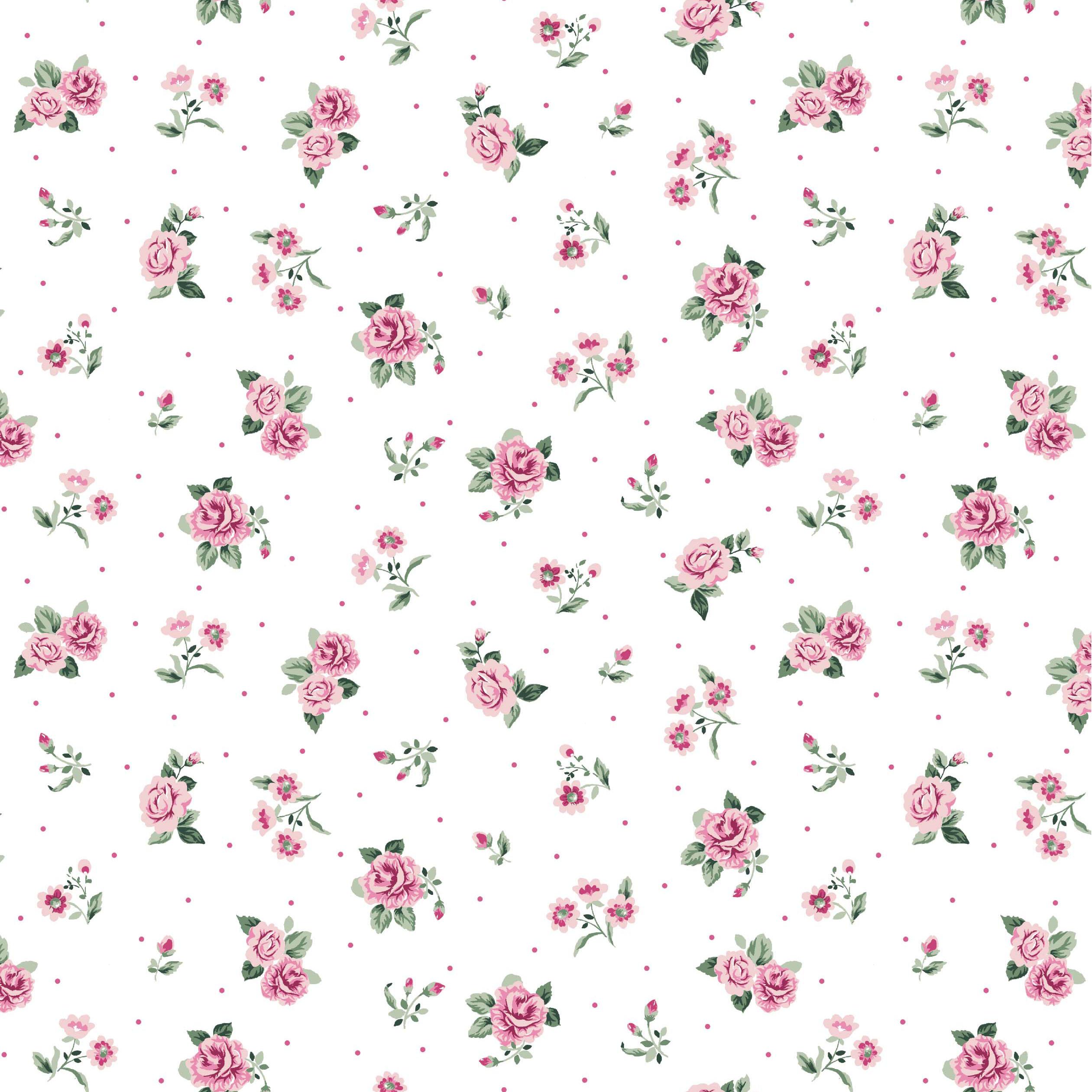 Soft Sweat Streublumen auf Weiß