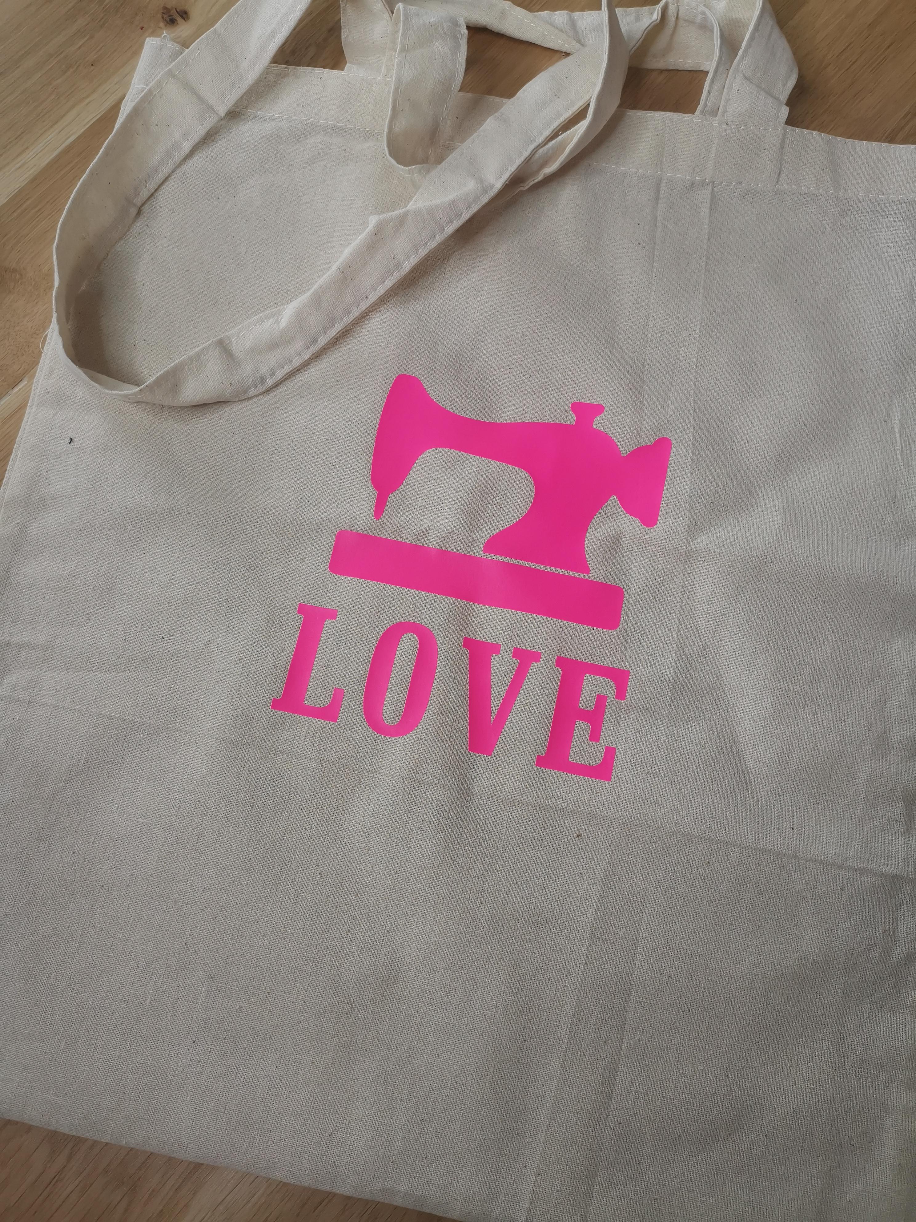 Tasche Sewing Love