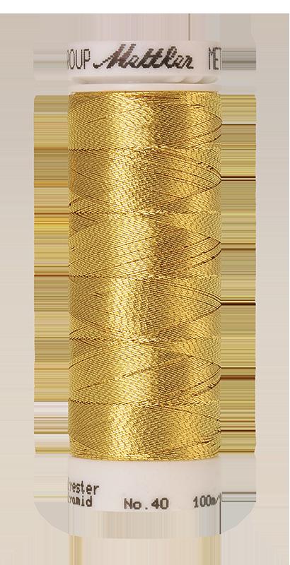 Mettalic Efffekt Garn Mettler Gold