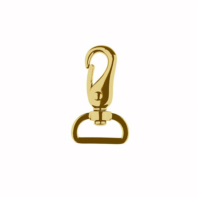 Karabiner Gold 25mm