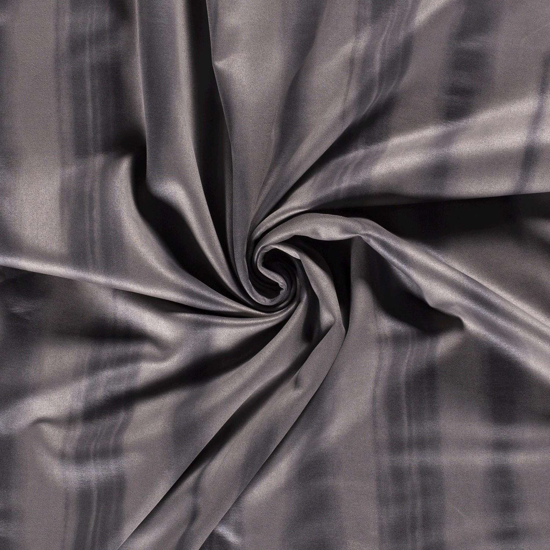 Suede Stretch Muster Grau