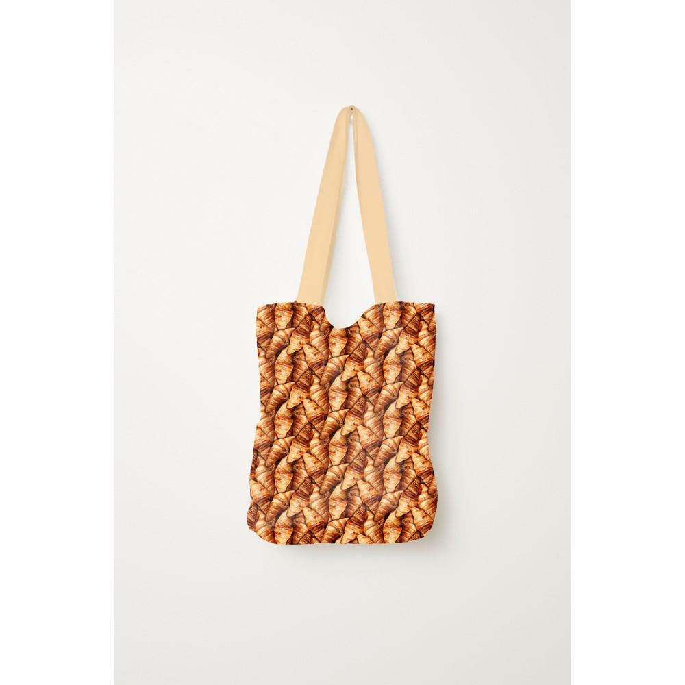 Crew Box Brötchen Einkaufstasche Croissant