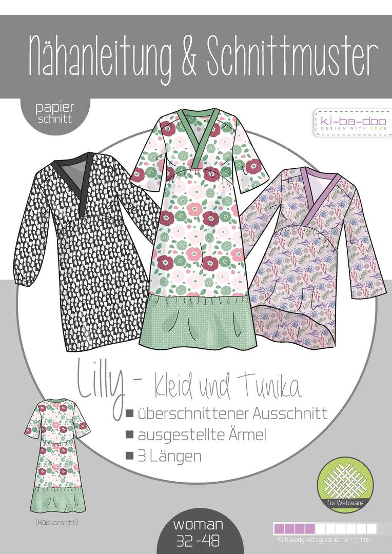 Schnittmuster Lilly Tunika / Kleid  Kibadoo