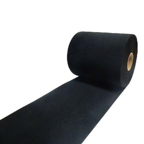 Gummiband Schwarz 6cm